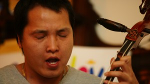 Bukhu is performing @ Earth Vigil in 2009